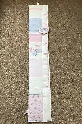 Vintage Love And Kisses Height Chart Mothercare BNWOP