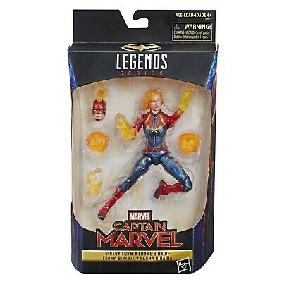 Marvel Legends Captain Marvel Binary Form Exclusive 6 Inch Figure NEW