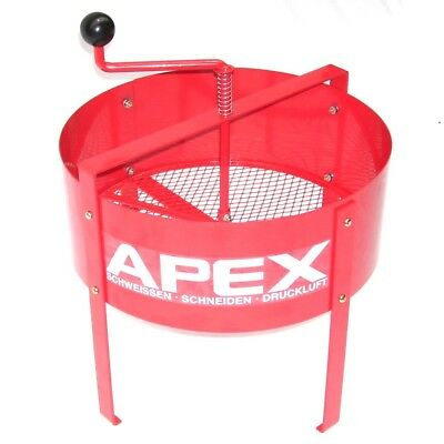 55357 Hand sieve S15L ROTARY SOIL SIEVE COMPOST SIEVE MESH RIDDLE