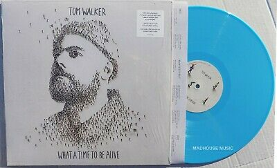 TOM WALKER LP What A Time To Be Alive TURQUOISE Vinyl + Download LIMITED SEALED