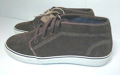 880548f9aa2 American Eagle Mens Suede Shoes Brown Genuine Casual Ankle Boots Size 10  AEO NWT