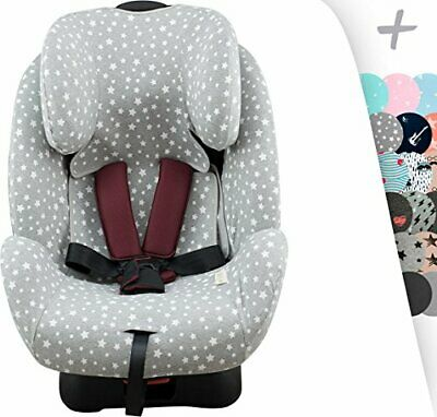 JANABEBE Funda para Joie Stages, Every Stages con refuerzo Air (WHITE STAR)