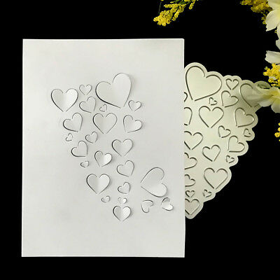 Love Heart Metal Cutting Dies For DIY Scrapbooking Card Paper Album TO