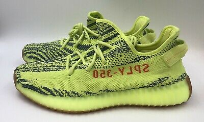 1383ddc4a96 ADIDAS YEEZY BOOST 350 V2 Semi Frozen Yellow Size 11 Kanye West BRAND NEW  B37572