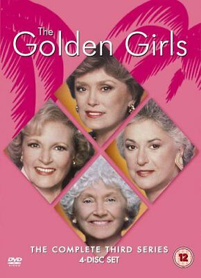 THE GOLDEN GIRLS - COMPLETE SERIES 3 (1986) Bea Arthur (4 Disc UK R2 DVD Boxset)
