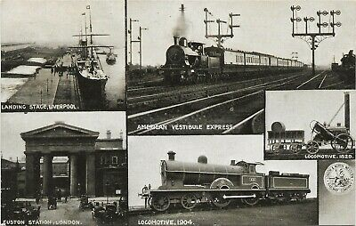 Official Postcard London & North Western Railway 5 Pictures