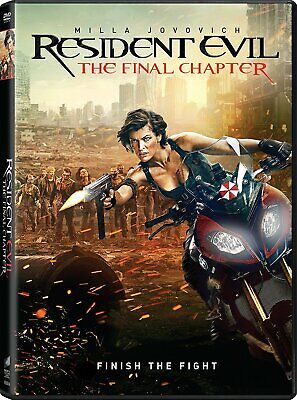 Resident Evil: The Final Chapter DVD Milla Jovovich