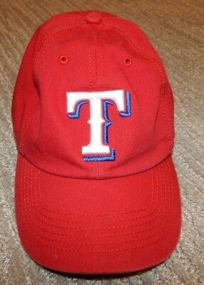 quality design a751b a56b4  47 Brand TEXAS RANGERS Red Fitted Baseball Cap   Hat Men s Medium   7 to.