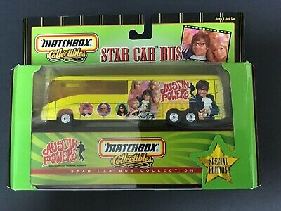 Matchbox Collectibles Austin Powers Star Car Bus Collection 1999