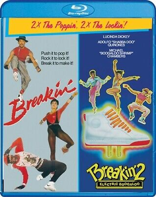 BREAKIN + BREAKIN 2 ELECTRIC BOOGALOO New Sealed Blu-ray Double Feature