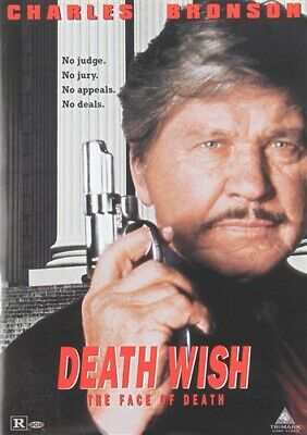DEATH WISH 5 THE FACE OF DEATH New Sealed DVD Fullscreen Charles Bronson