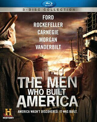 THE MEN WHO BUILT AMERICA New Sealed Blu-ray