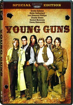 YOUNG GUNS New Sealed DVD Special Edition Charlie Sheen