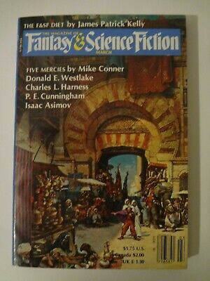 Magazine of Fantasy and Science Fiction - March 1984 - Isaac Asimov