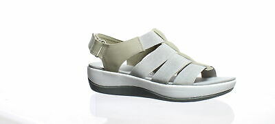 cd77cdef706c Cloudsteppers Womens Arla Shaylie Gray Ankle Strap Heels Size 7.5 (197576)