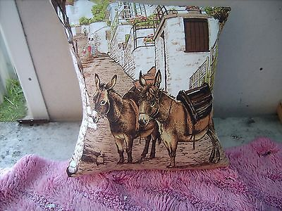 Donkey  Two    Cushion 16 Inch/ 40 Cm