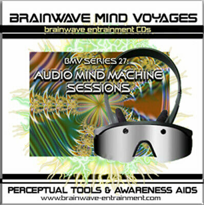 Audio Mind Machine-7 Brainwave Training Program-Control Your Brain Wave Activity