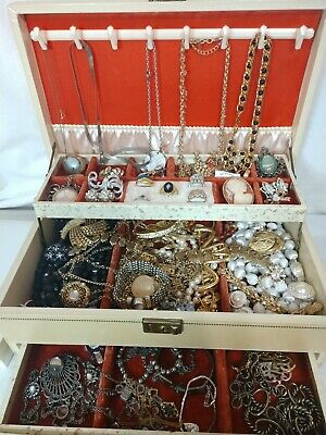 Huge Vintage To Now Jewelry Lot Estate Find Unsearched/untested