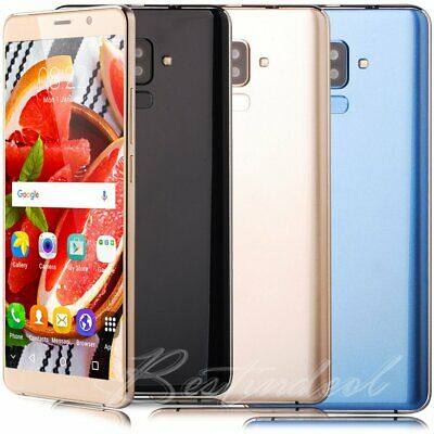 """Cheap Unlocked 6.0"""" Android 7.0 Cell Smart Phone Quad Core Dual SIM GPS 3G Touch"""