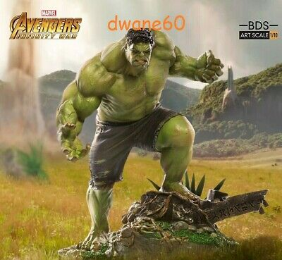 Marvel Hulk Avengers: Infinity War Art Scale 1:10 Statue by Iron Studios * NEW