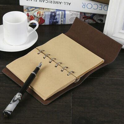 Refillable Pages Filofax Planner Organizer A5 A6 Notebook Inside Paper B