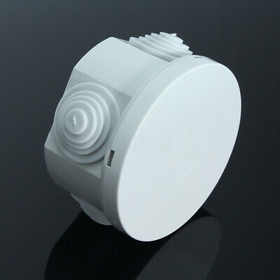 IP66 Waterproof Junction Box Above Ground Cable Line Protection Connector White