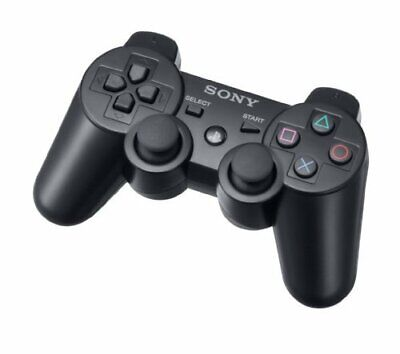Ps3 Controller Sony Playstation 3 Dualshock Wireless Black Ps 3 Gamepad