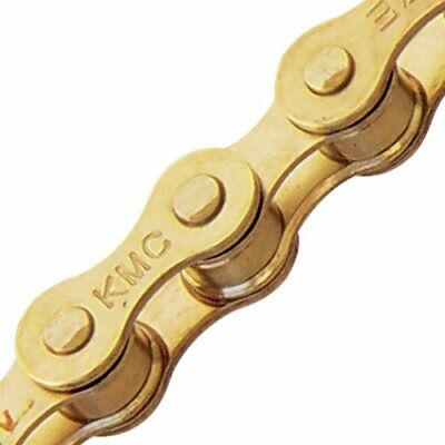 KMC Z410 Bicycle Chain Fixie 1 Single Speed Chain Tool  In Gold Color
