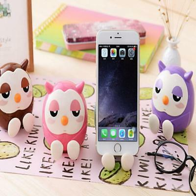 Owl Pattern Cellphone Accessories Cellphone Stand Mobile Phone Holder Support B