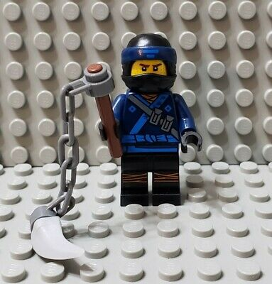 LEGO New The Ninjago Movie Jay Minifigure with Chain Whip Weapon