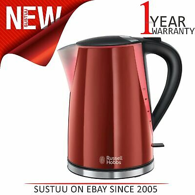 Russell Hobbs 21401 Mode Electric Jug Kettle│1.7L│3000W│LED Illuminated│Red