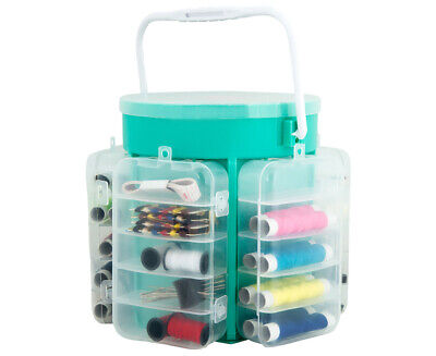 Deluxe 210-Piece Sewing Kit Storage Caddy