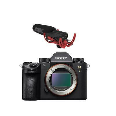 Sony Alpha a9 Mirrorless Digital Camera, Full Frame W/Shure VP83F Shotgun Mic
