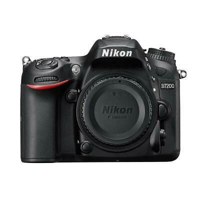 Nikon D7200 DSLR Body - Black - Refurbished by Nikon U.S.A. #1554B