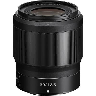 Nikon NIKKOR Z 50mm f/1.8 S Lens for Z Series Mirrorless Cameras #20083
