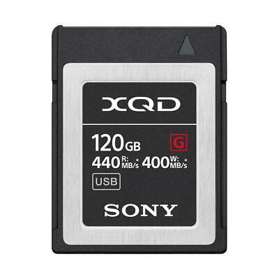 Sony G Series 120GB XQD Memory Card #QD-G120F