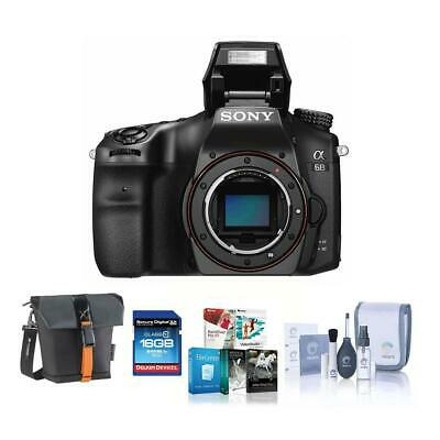 Sony a68 DSLR Body and Free Accessories #ILCA-68 A