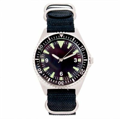 British Naval Divers Watch 1980's Replica Collectors Wristwatch by Eaglemoss