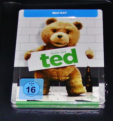 Ted con Mark Wahlberg Limitada Marcado Steelbook Blu-Ray