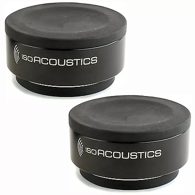 IsoAcoustics ISO-Puck Pair of Monitor Isolation Pads Stands Pro Audio LA