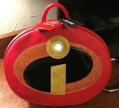 6f7f2d85e5c HER UNIVERSE DISNEY Pixar The Incredibles Circle Logo Backpack NEW ...