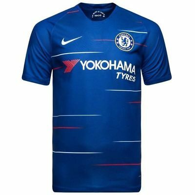 Chelsea FC Home Shirt with Free Shorts 2018/19  BNWT Adult size jersey & Shorts