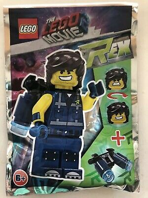 Lego THE LEGO MOVIE 2 LIMITED EDITION  REX  471906 Sealed Packet