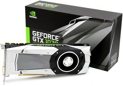 GTX 1070 NVIDIA GeForce Founders Edition 8GB GDDR5 PCI Express 3.0 Graphics Card