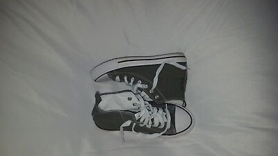 Converse Chuck Taylor All Star Leather High Top Sneaker SZ 5 GREAT CONDITION