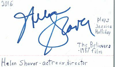Cards & Papers Ellen Barkin Actress Helen In Sea Of Love Movie Autographed Signed Index Card Autographs-original