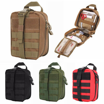 Tactical Molle IFAK Medical Pouch First Aid EMT Pouch Bag EDC Airsoft Hunting