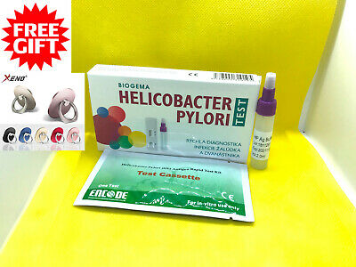 Helicobacter H Pylori Test Kit Stomach Ulcer,Duodenum -Home Test-Result in 10min