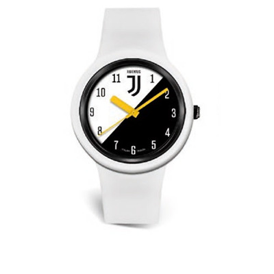 OROLOGIO DA POLSO IN SILICONE FC JUVENTUS LOWELL NEW ONE KID 37 mm WHITE