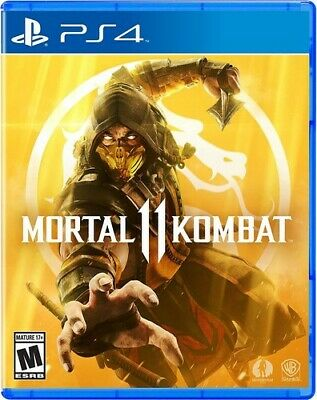 Mortal Kombat 11 - PS4 Released on April 23, 2019 Pre-order now Brand New
